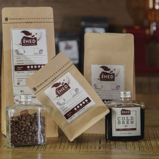 the shed coffee
